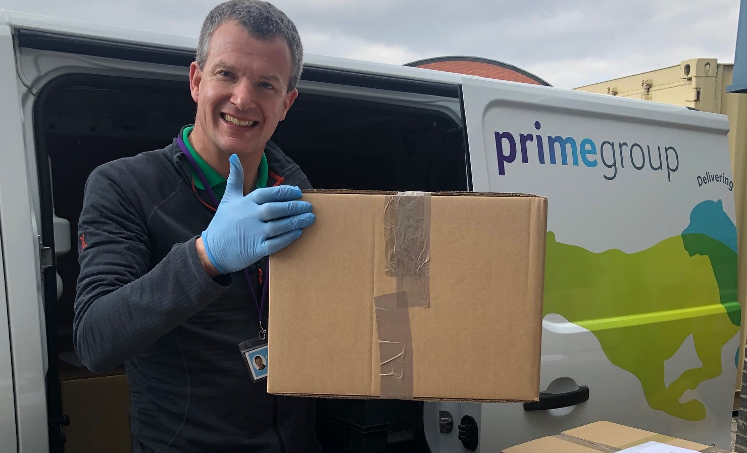 Prime on the frontline as it launches PPE campaign for NHS workers