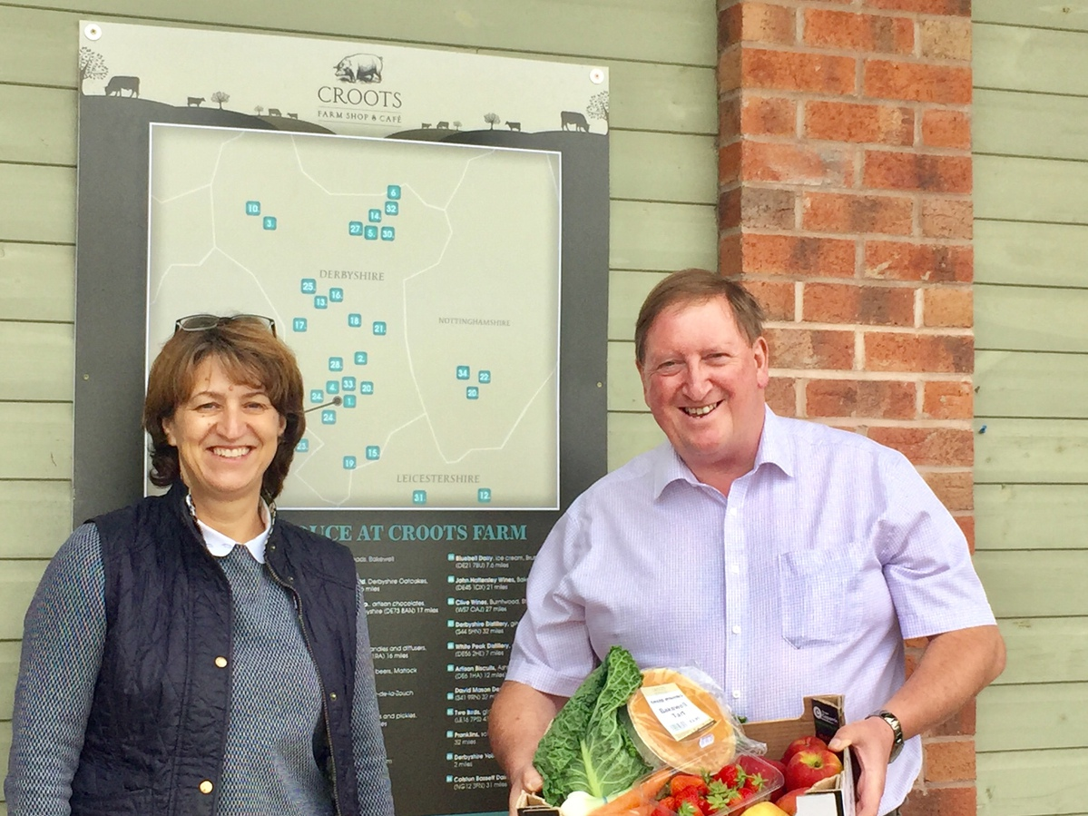 Derbyshire farm shop Croots named a finalist in the 2021 Family Business of the Year Awards