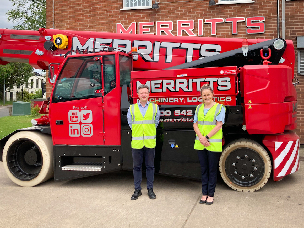 Double new appointments for Merritt Group Plc