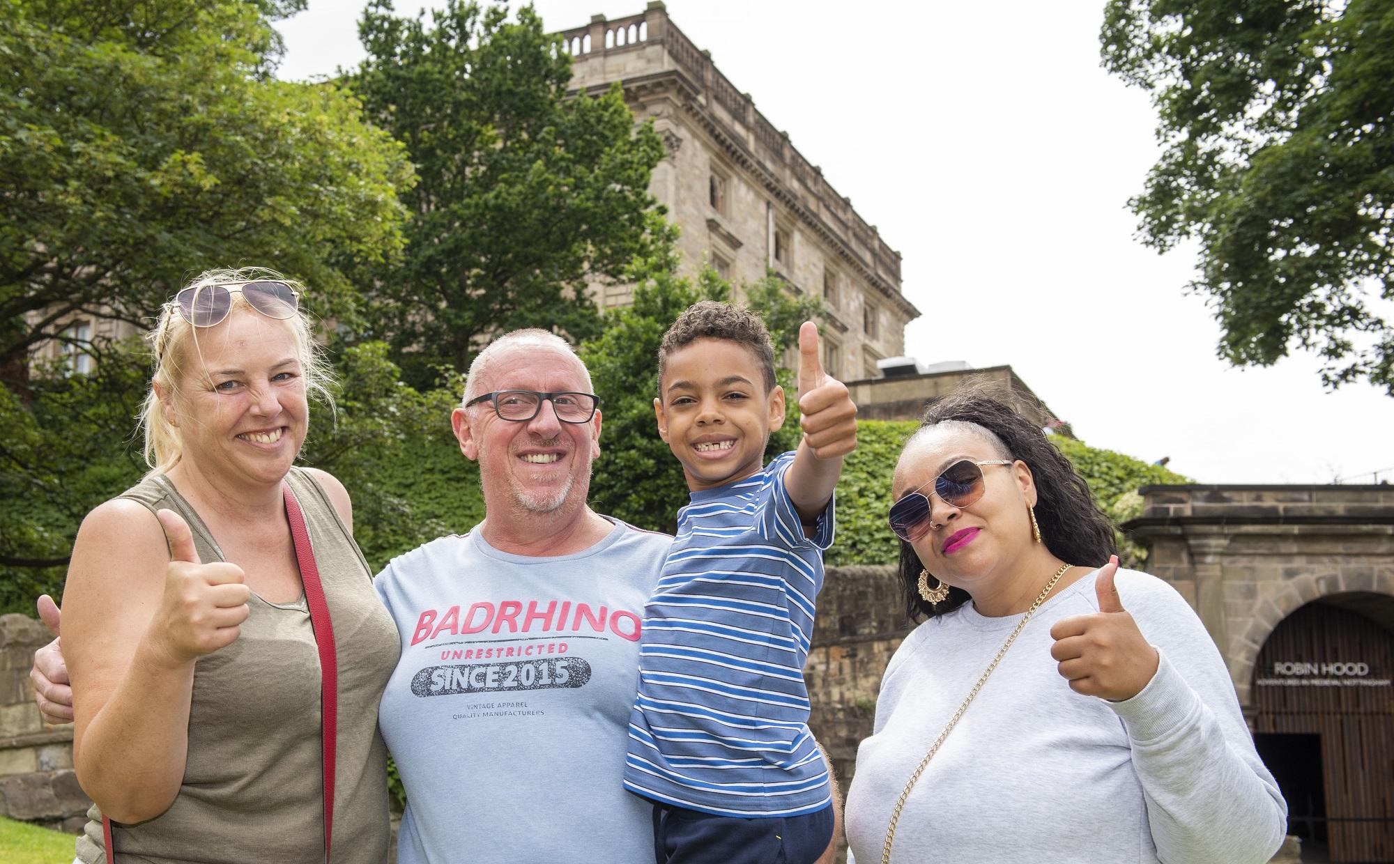 Nottingham boy enjoys his first-ever museum visit thanks to Nottingham Castle