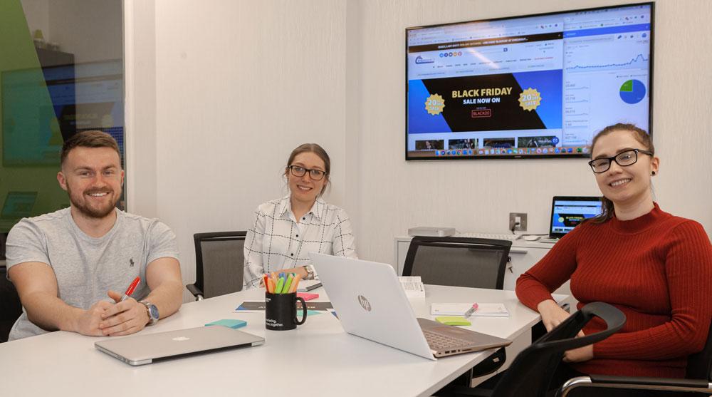 Black Friday success for Derbyshire-based full-service marketing agency, Purpose Media.
