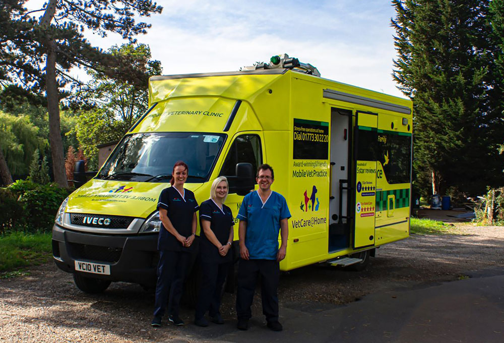 """Mobile emergency """"K-999"""" surgery launched by Derbyshire vet"""