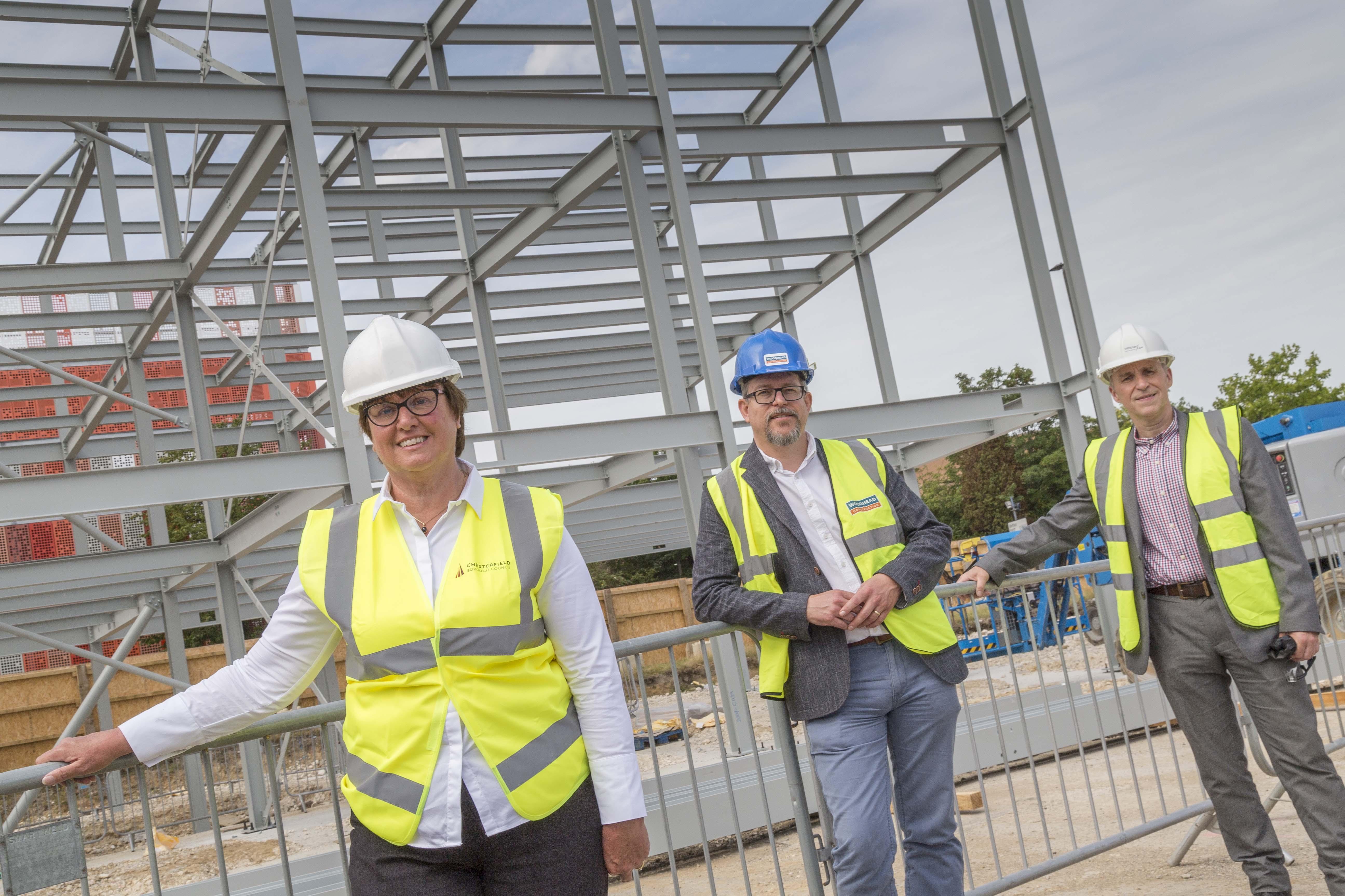 Work progresses on site of Northern Gateway Enterprise Centre