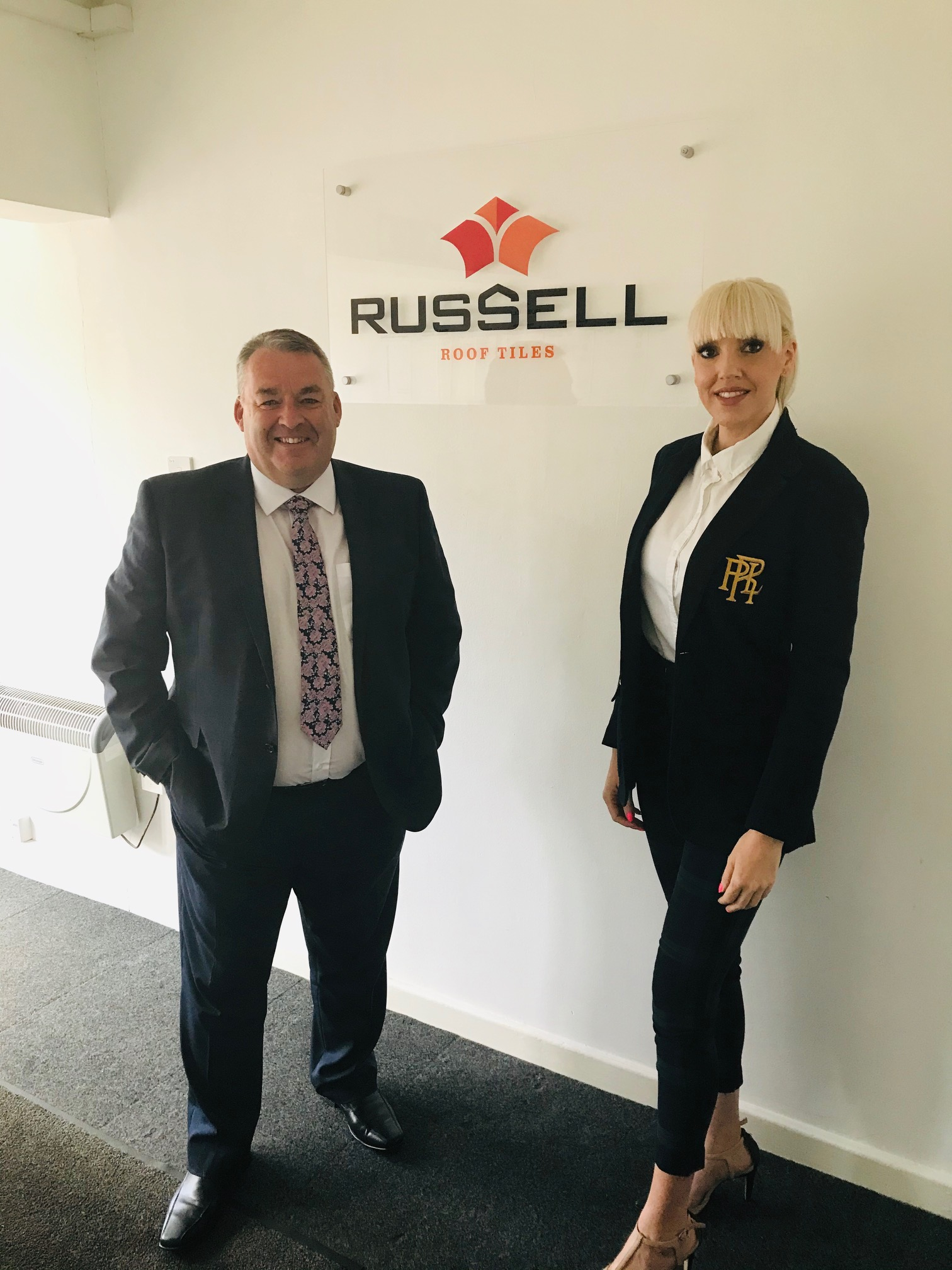 JAMIE CLIMBS CAREER LADDER AT RUSSELL ROOF TILES