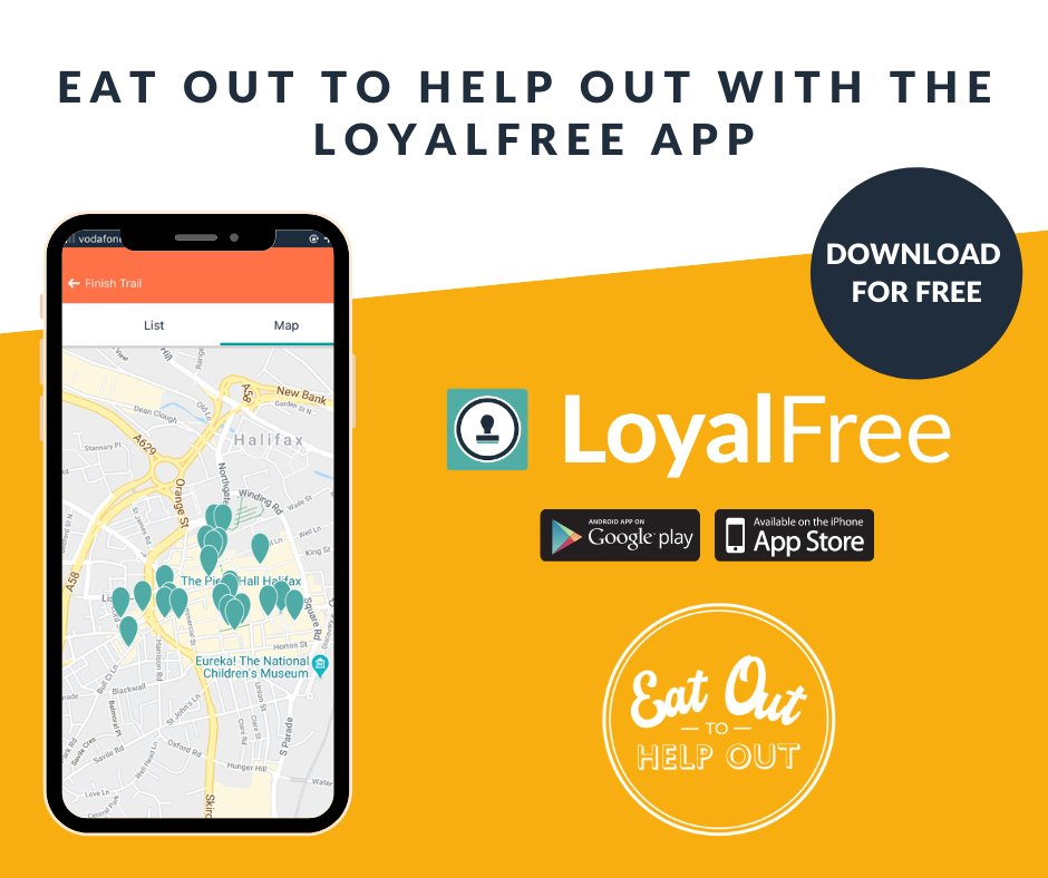 High Street app launches Eat Out to Help Out trails to support government scheme