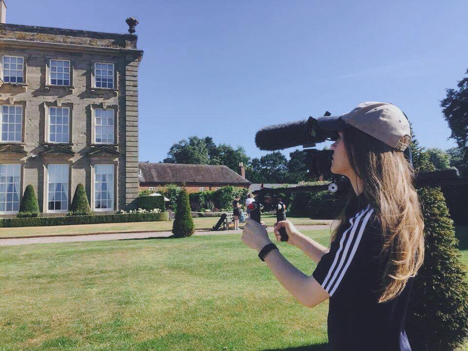 Award-winning film graduate launches Staffordshire-based production company