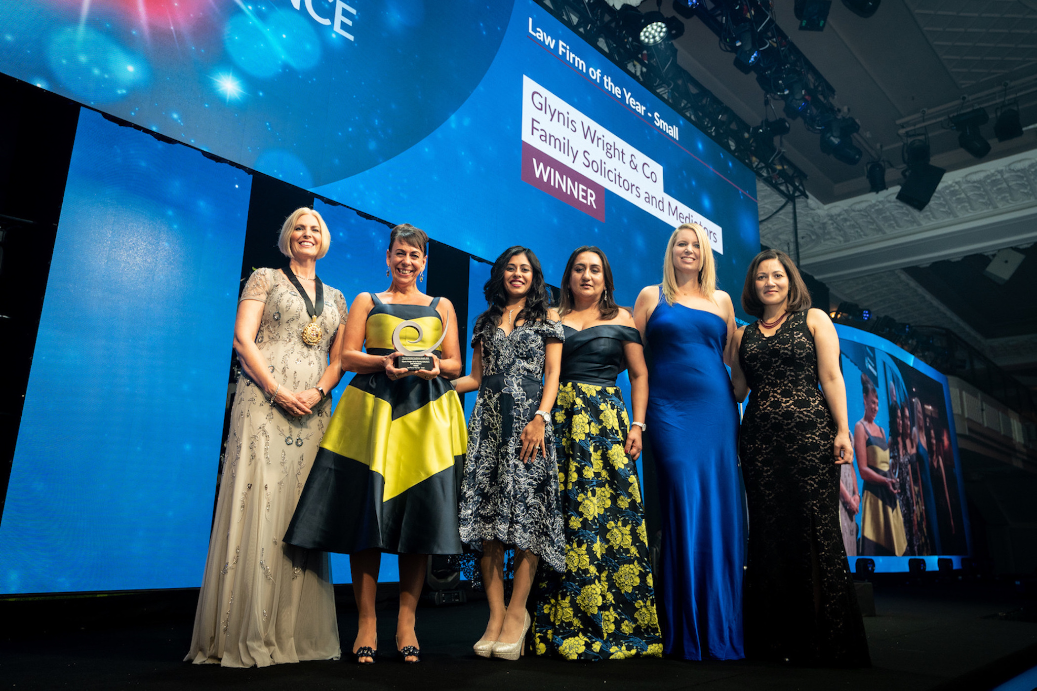 Glynis Wright & Co wins Small Law Firm of the Year at The Law Society's Excellence Awards