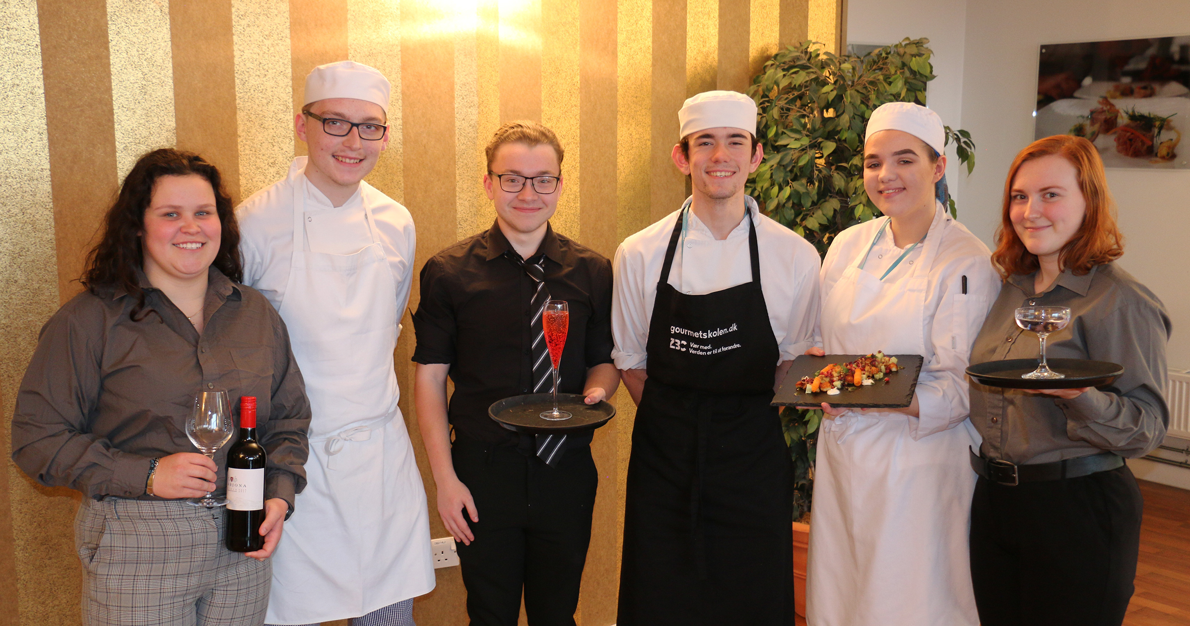 Chefs bow out in style with fellow hospitality students