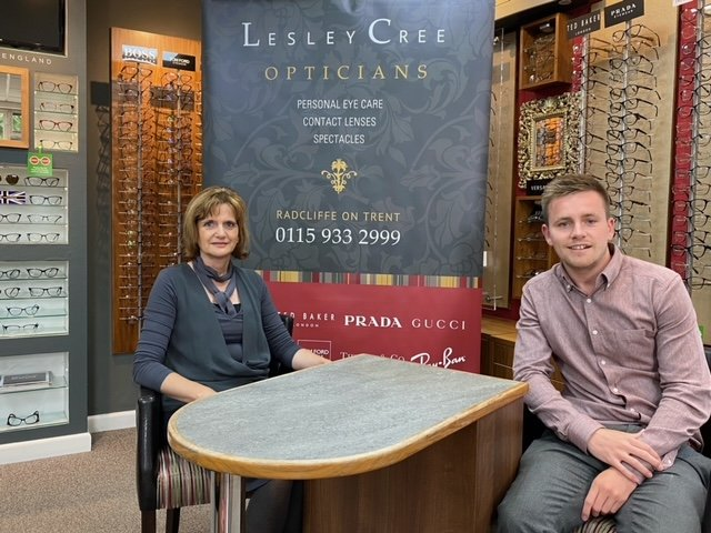 Lesley Cree Opticians appoints new Director