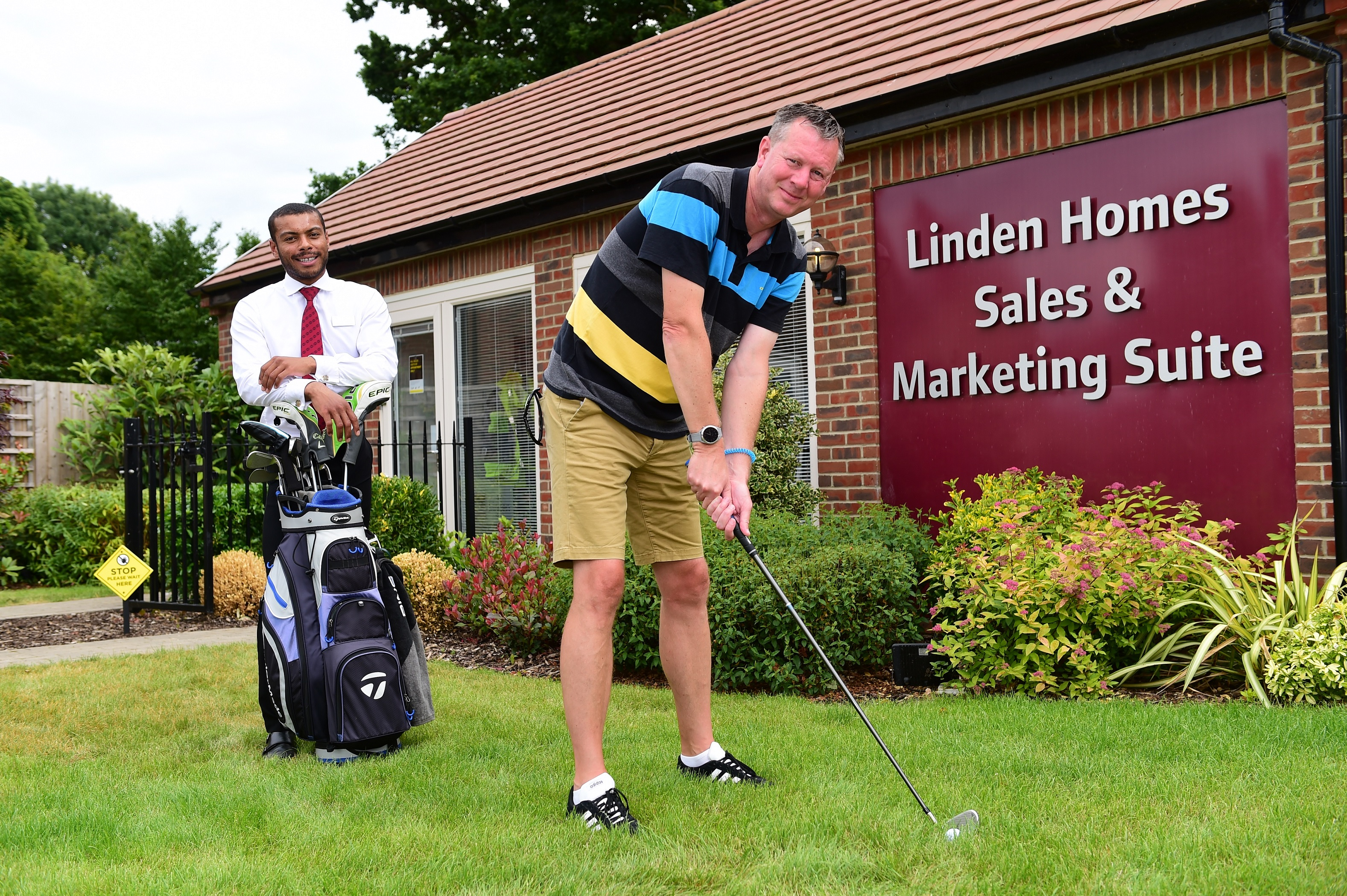 Golf fundraiser receives support from Linden Homes