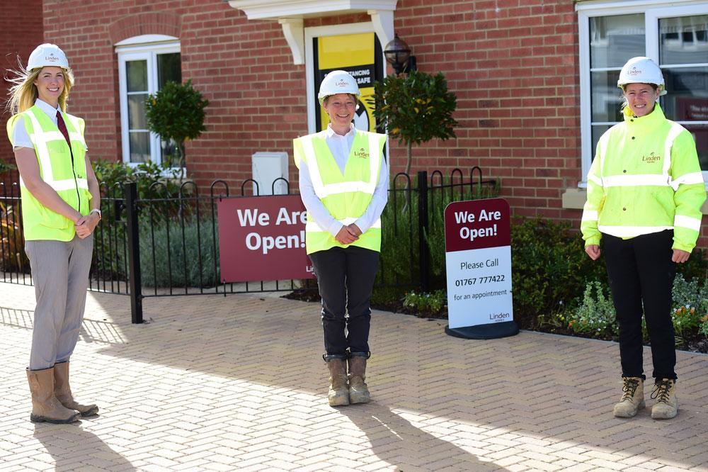 Housebuilder celebrates women in construction