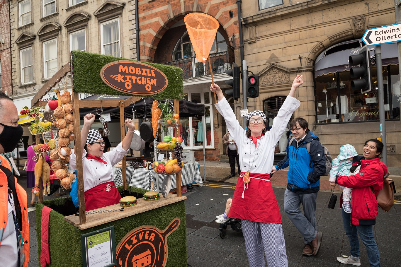 FEAST OF SUCCESS AT NORTH NOTTS FOODFEST