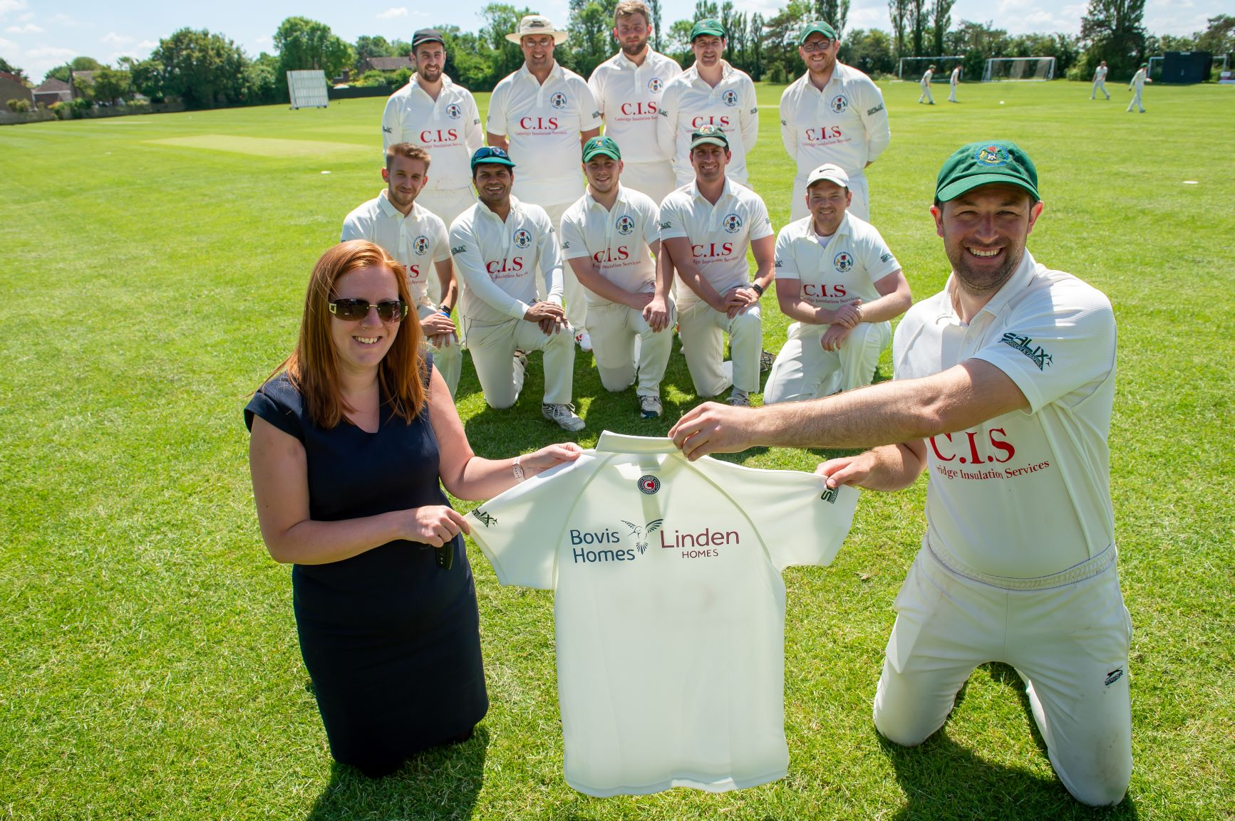 Cricket club secures backing from local housebuilder