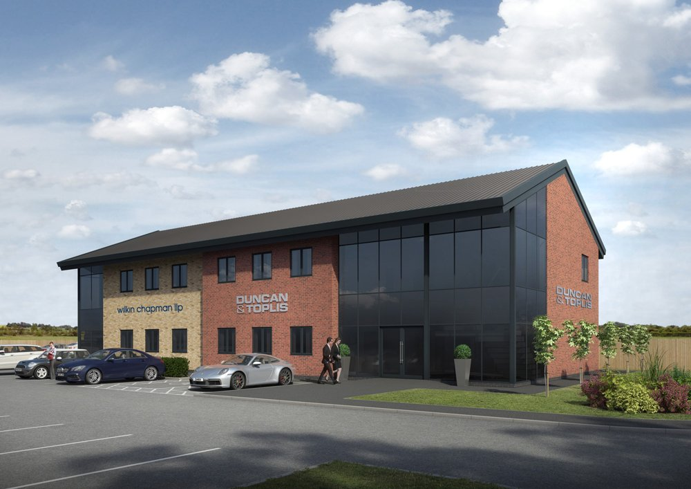 Construction set to begin on 10,000sq ft office development in Lincolnshire