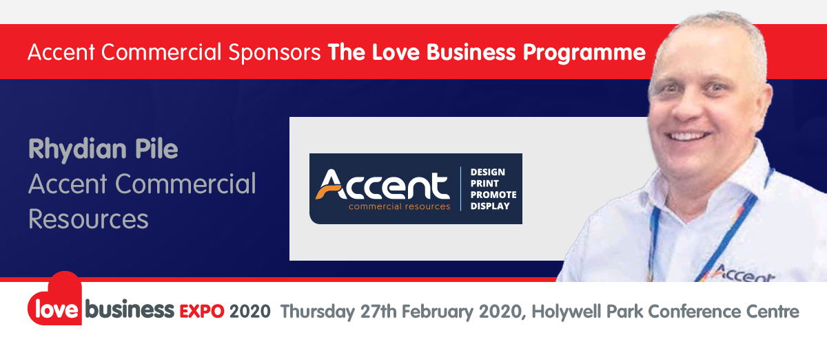 A word from our sponsor - Rhydian Pile, Managing Director of Accent Commercial Resources