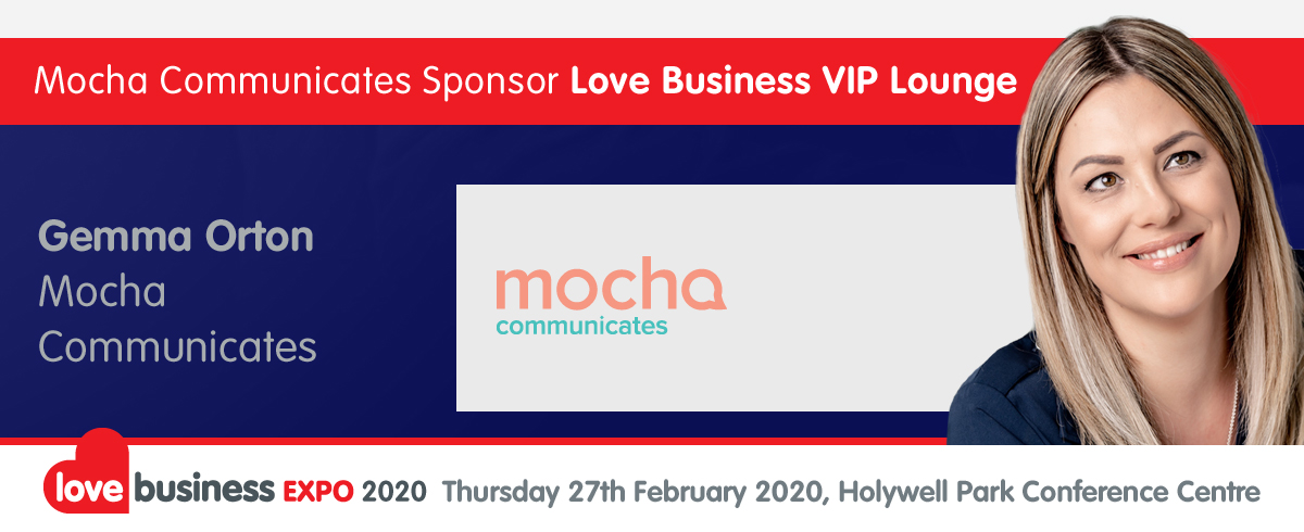A word from our sponsor - Gemma Orton of Mocha Communication talks about sponsoring Love Business VIP Lounge.