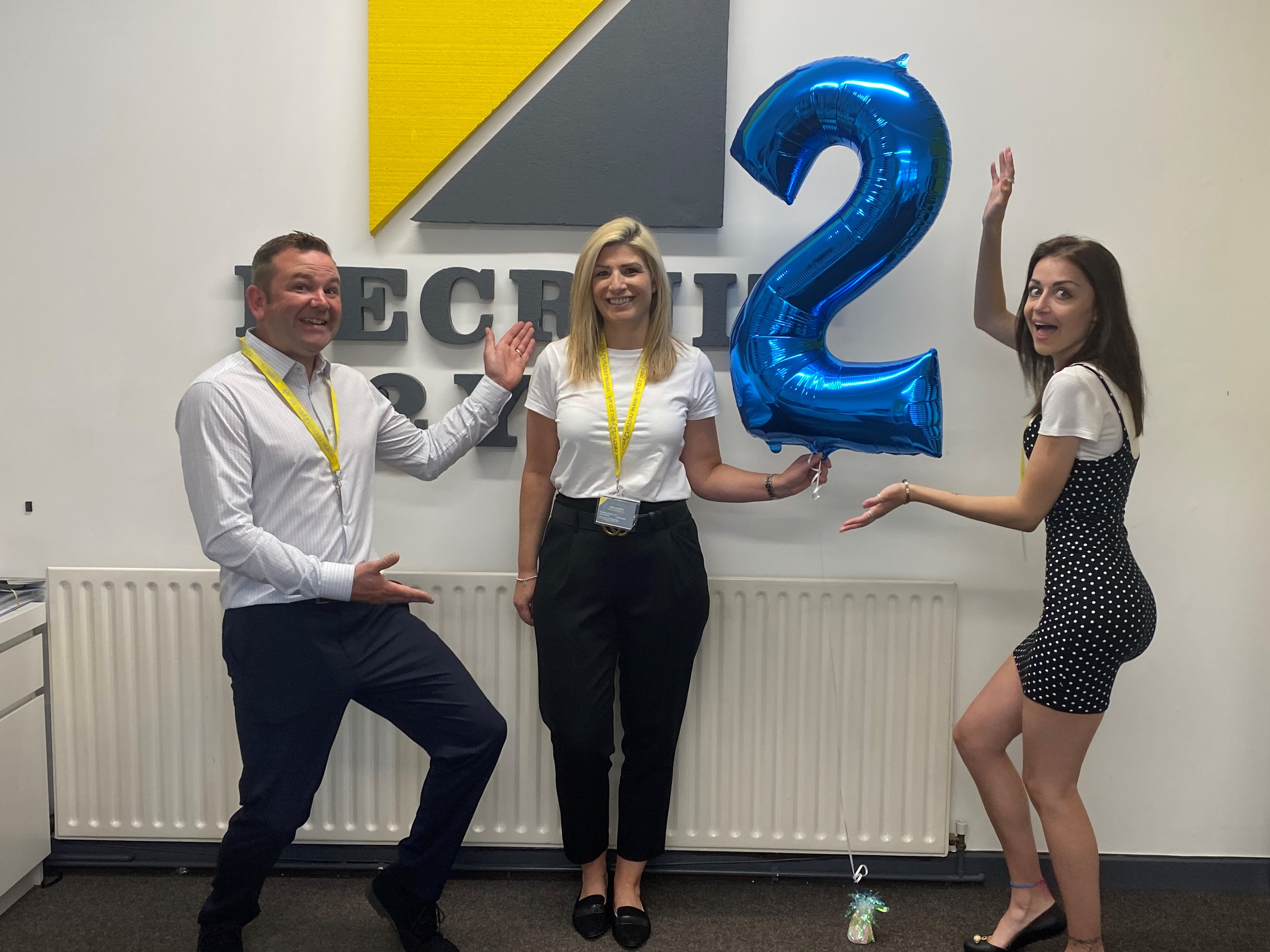 Recruit 2 You celebrates two years in business