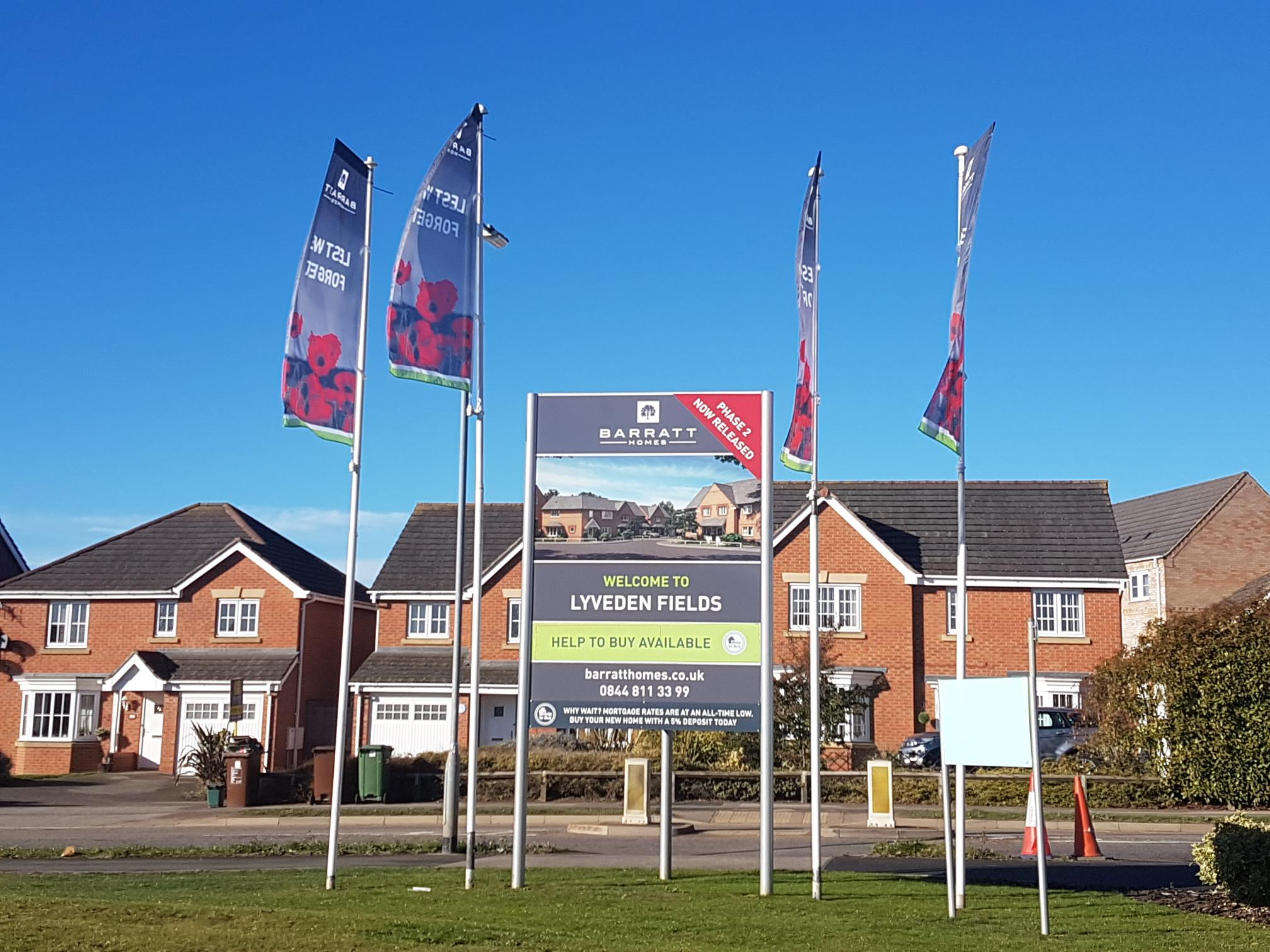 Barratt Homes unites to show support for the Royal British Legion