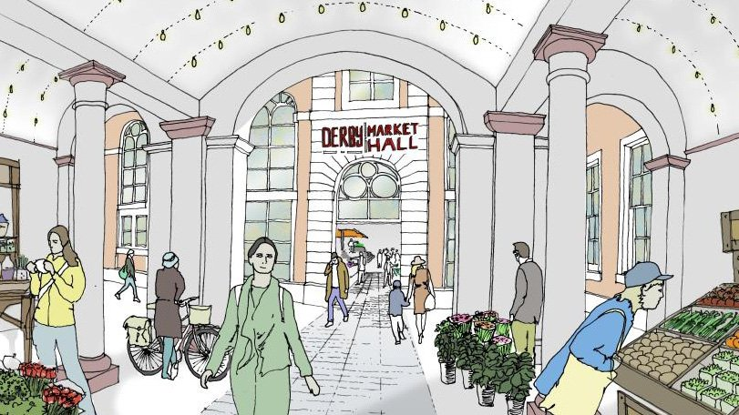 Derby City Council unveil £11.2 million plans for Market Hall