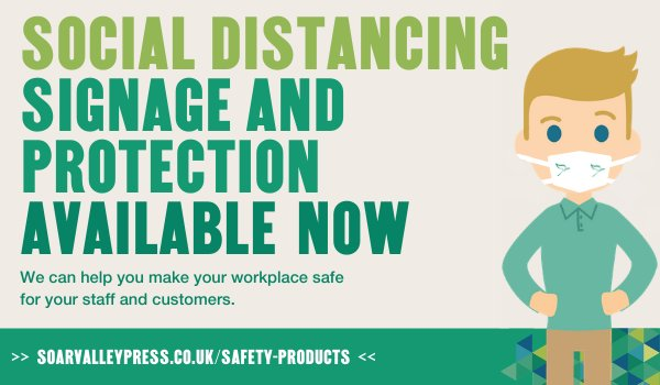 Local business launches new products to help businesses return to work safely