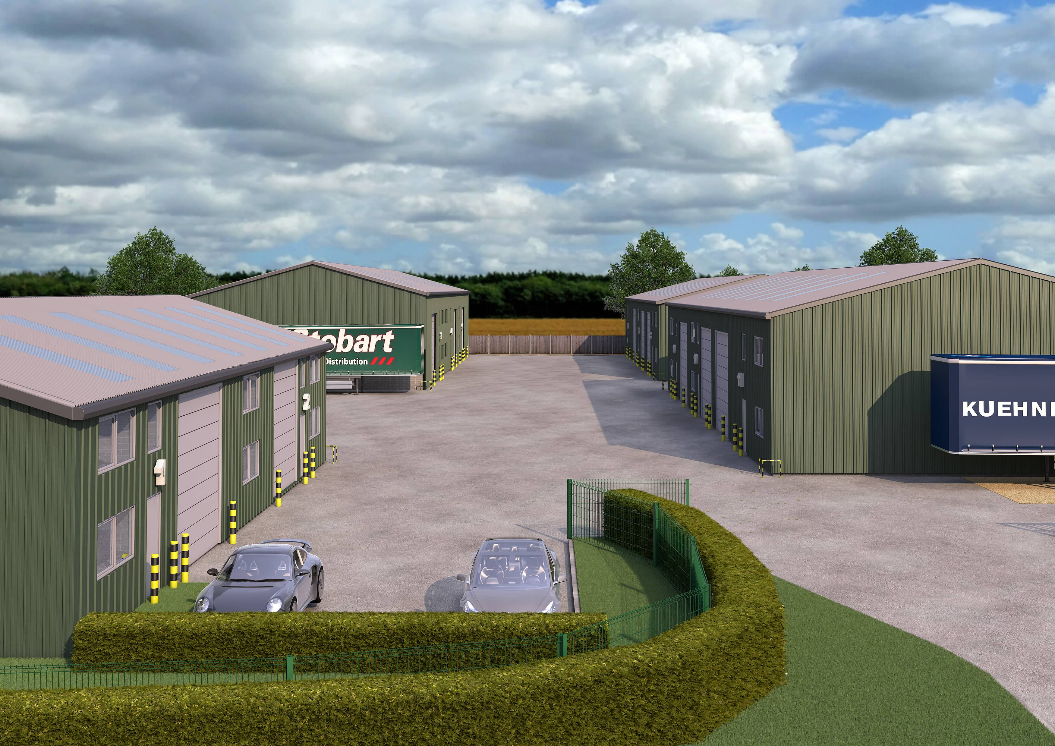 OFF-PLAN DEMAND SURGES AT NEW LEICESTERSHIRE INDUSTRIAL PARK