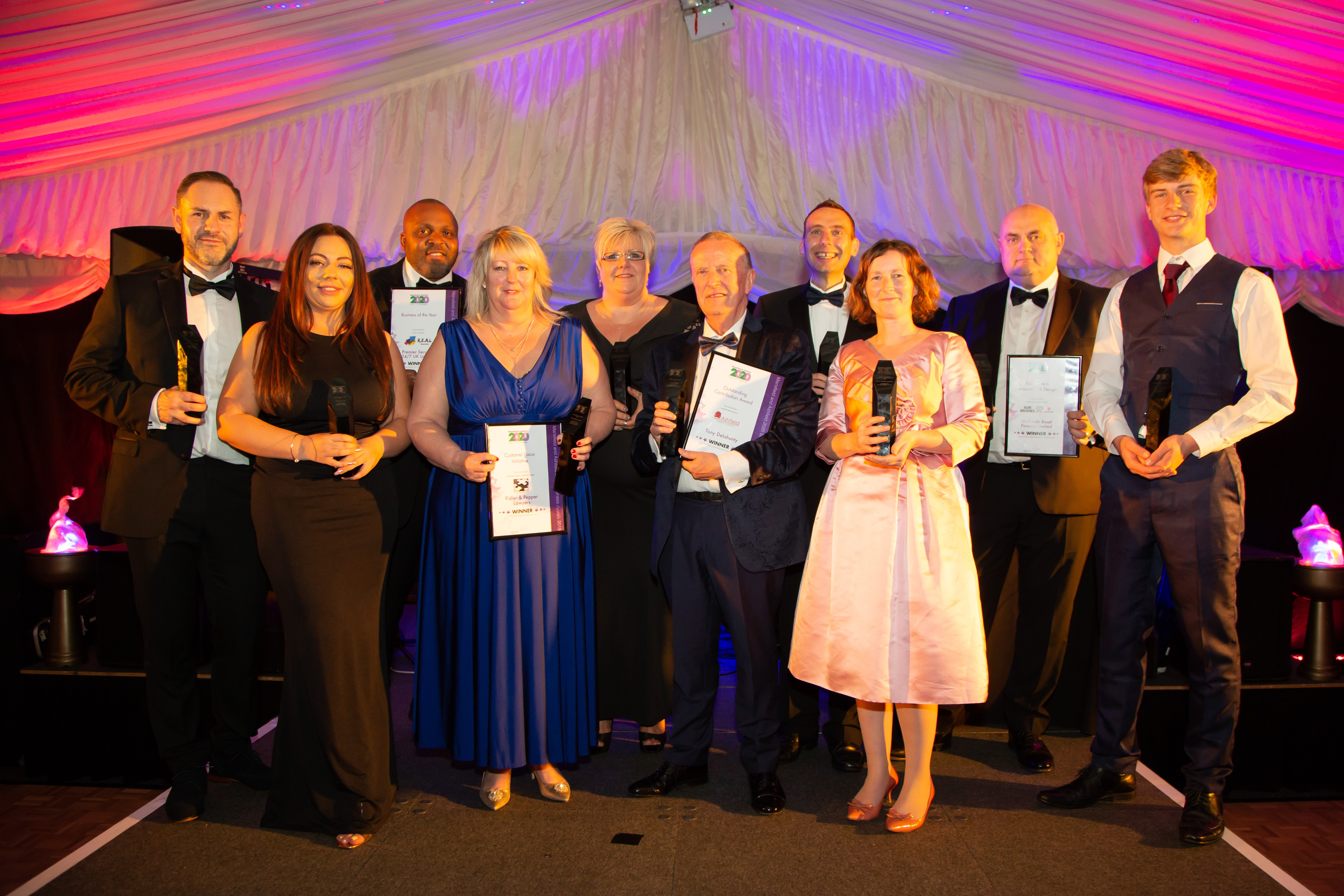Awards open for inspirational businesses from Mansfield and Ashfield