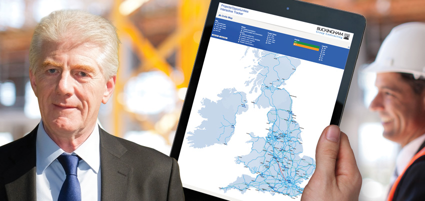 Quiet Storm mapping the future for Buckingham Group Contracting Ltd
