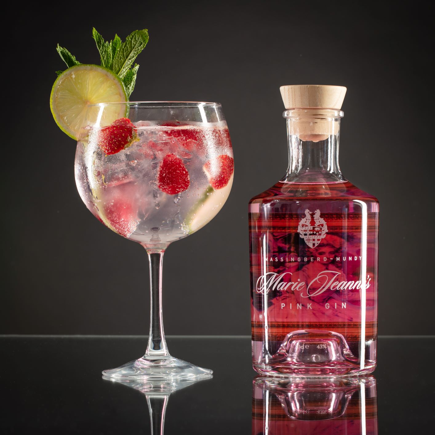Tickled pink: Lincolnshire gin wins Gold at World Gin Awards