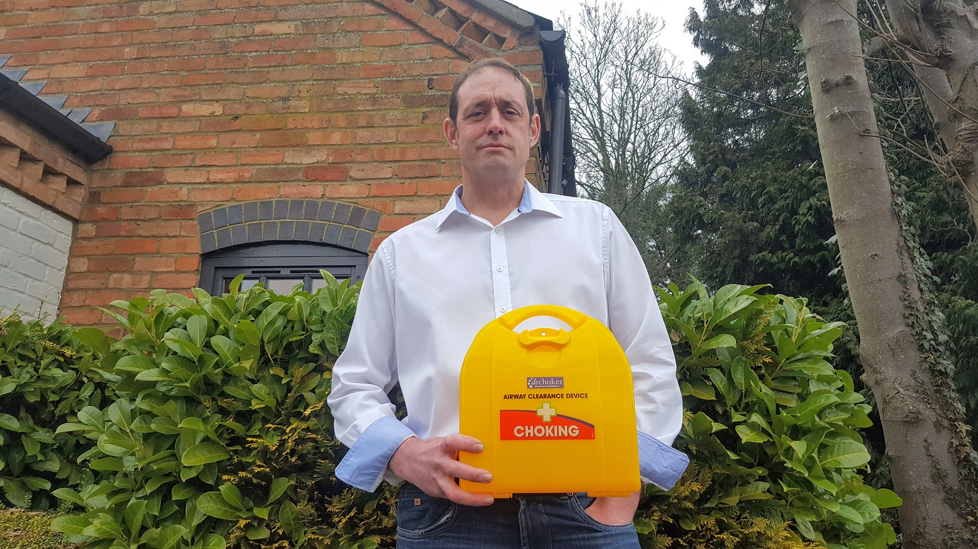NORTHAMPTONSHIRE FIRM BEHIND LIFESAVING CHOKING DEVICE RECEIVES £70K INVESTMENT