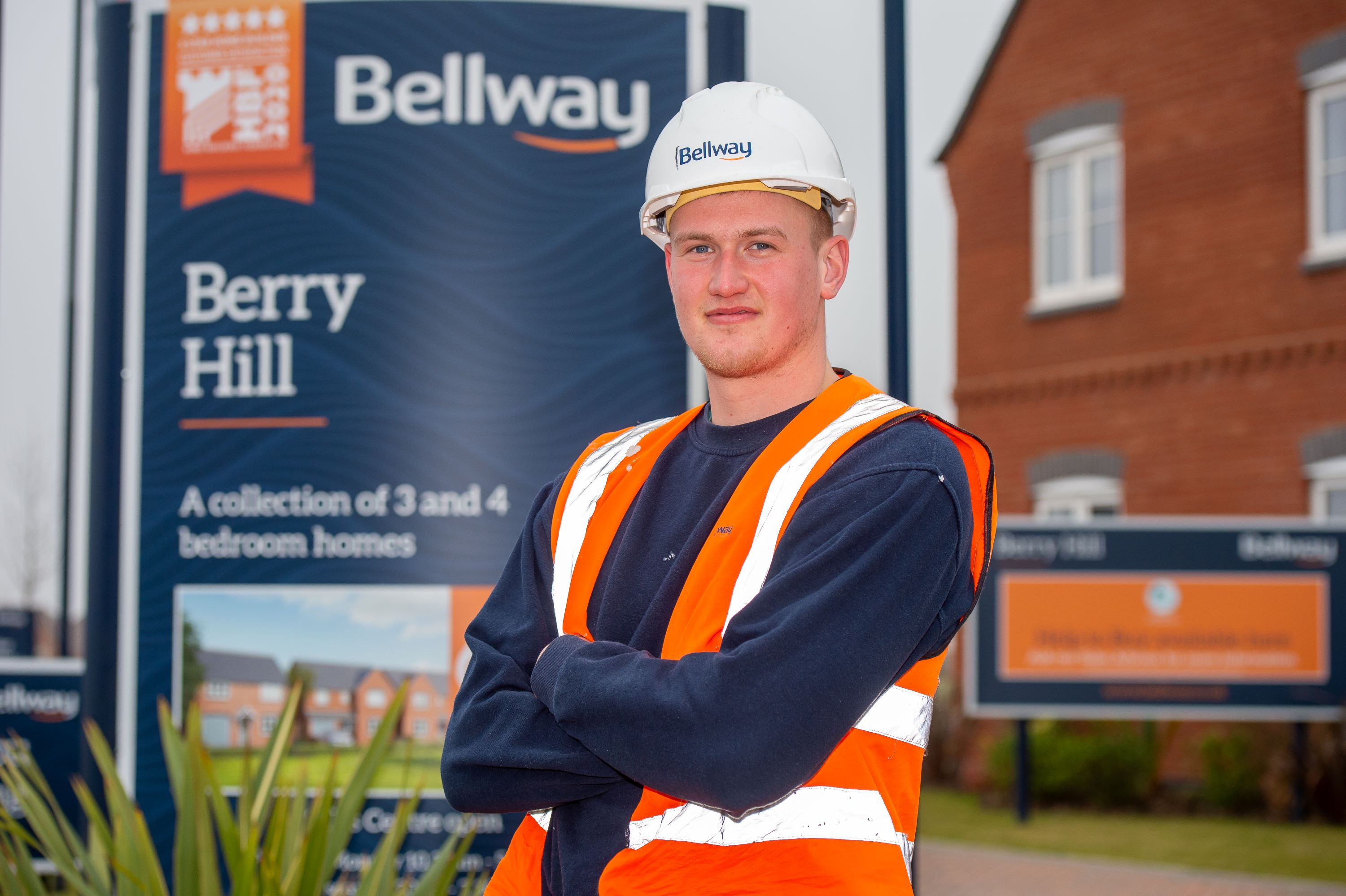 Apprentice joiner wins top accolade with national housebuilder