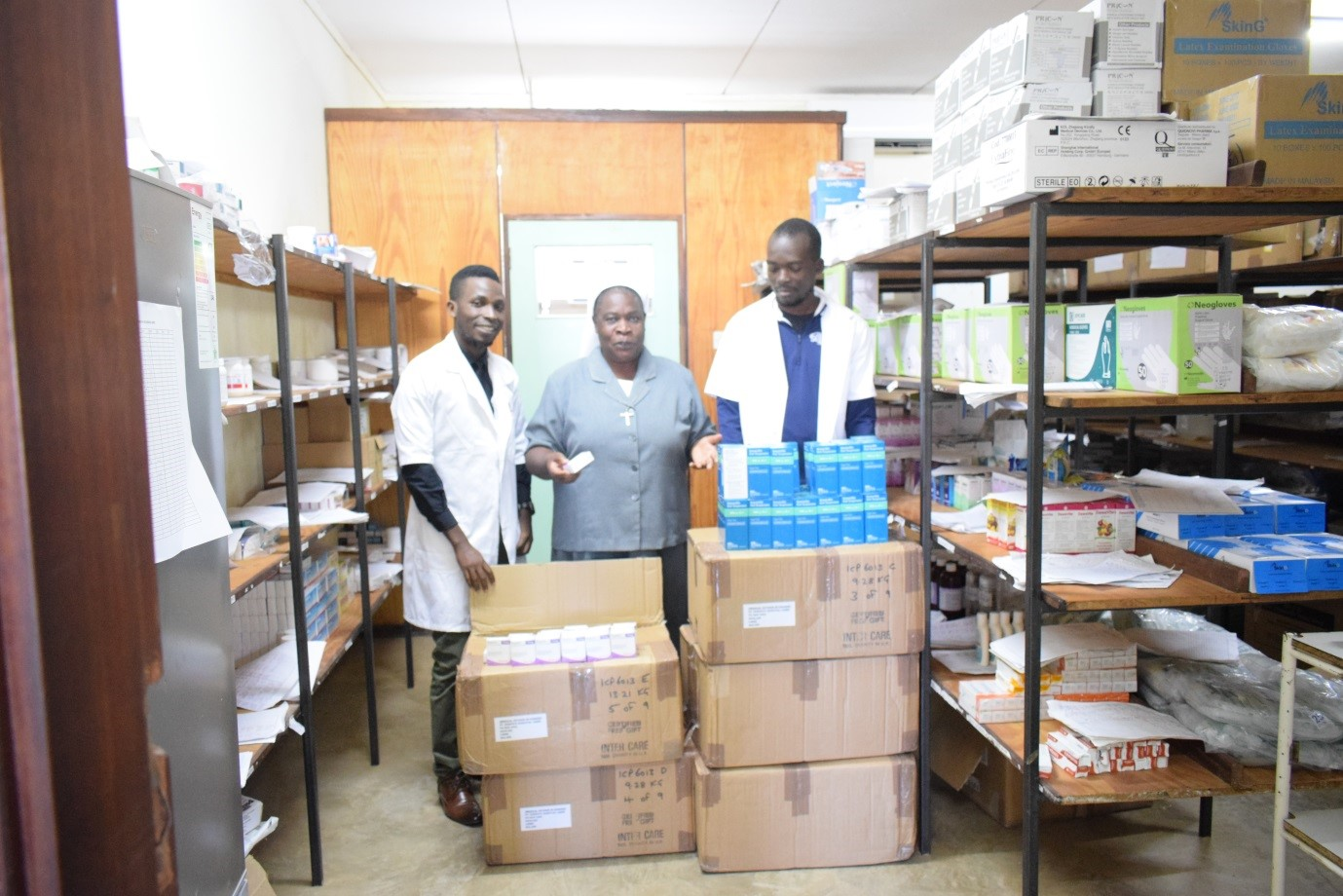 African hospital praises support of Leicestershire Business
