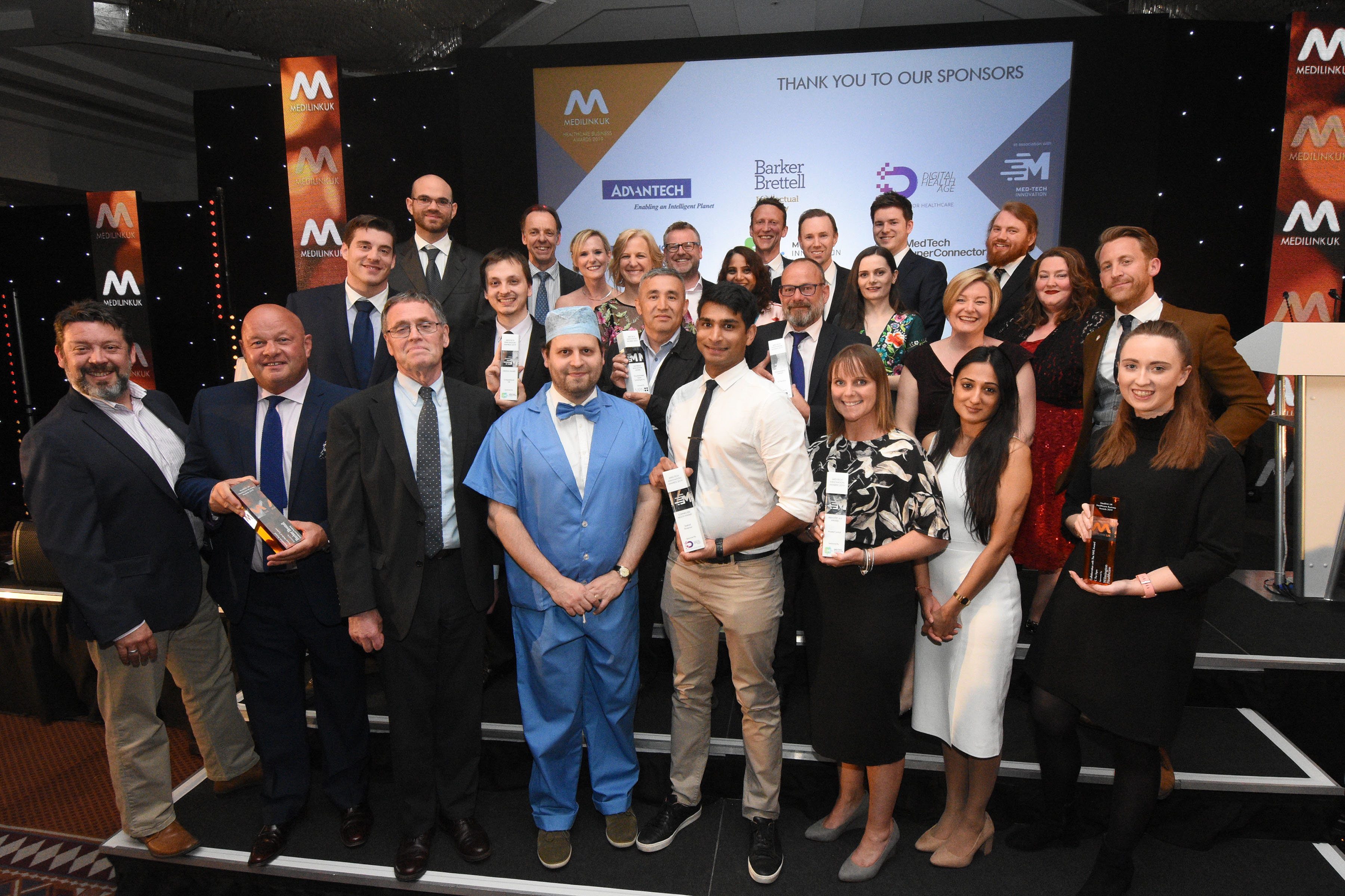 East Midlands Companies Crowned Winners at National Life Science Awards