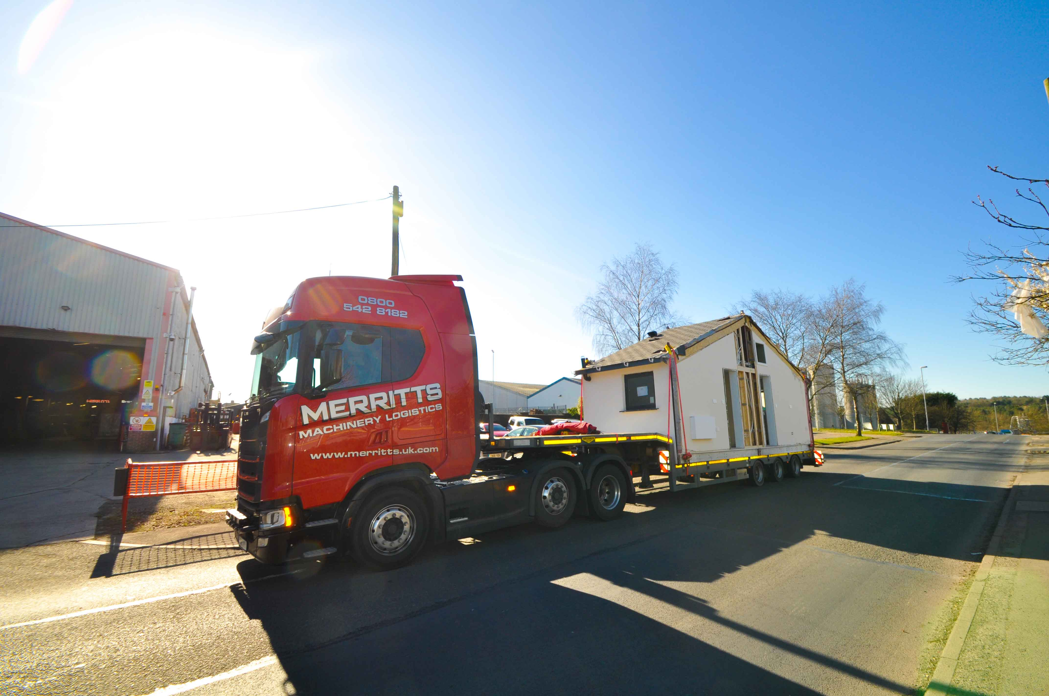 Merritts Complete Removal Of Modular Housing Units From Beeston