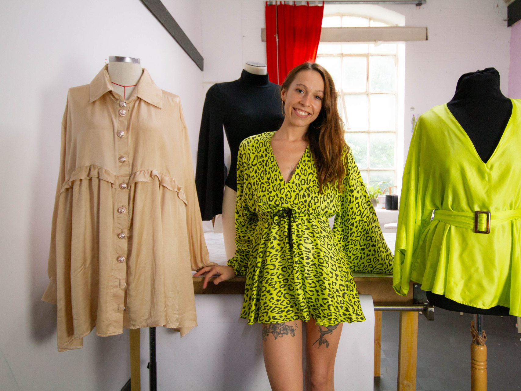 Textile capital Leicester unveils new darling of sustainable fashion
