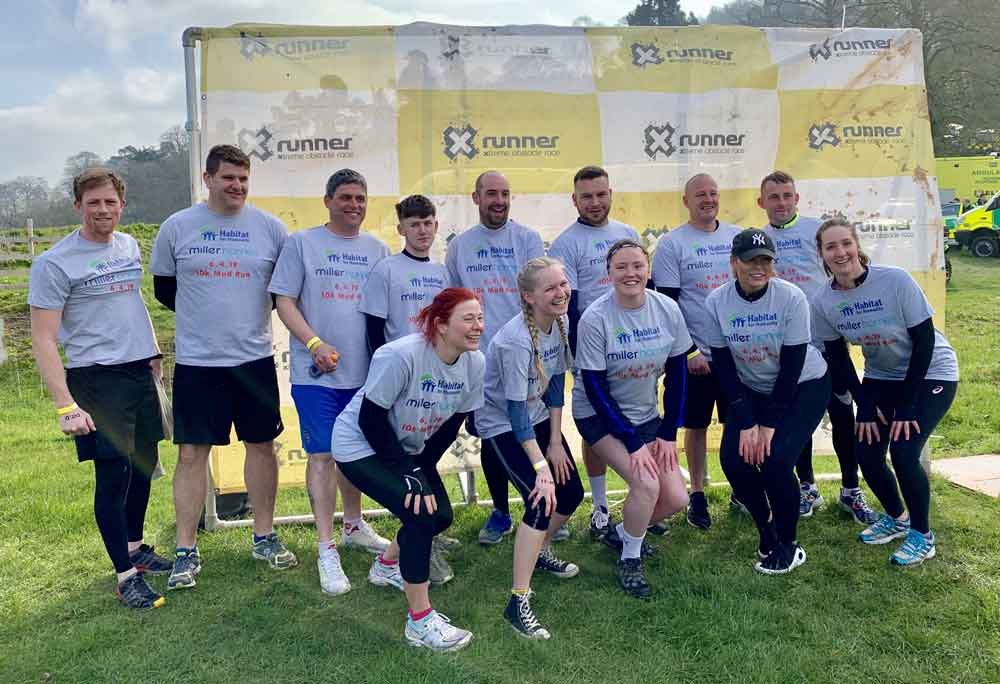 Housebuilder on track to smash charity fundraising target