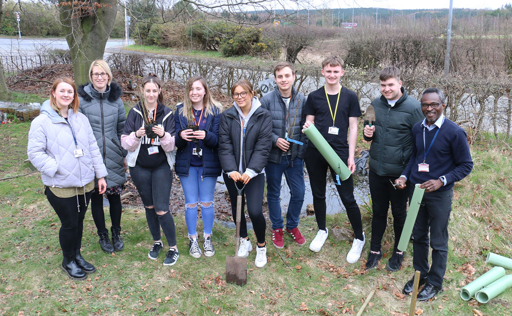 Learners hedge their bets for a greener future