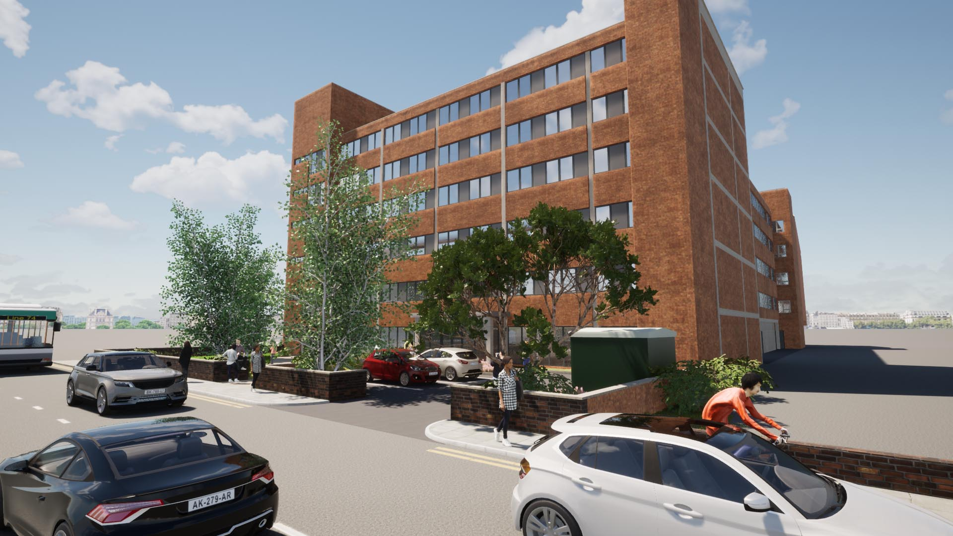 LANDMARK DERBY BUILDING PLANNING APPROVED FOR NEW STUDENT SCHEME