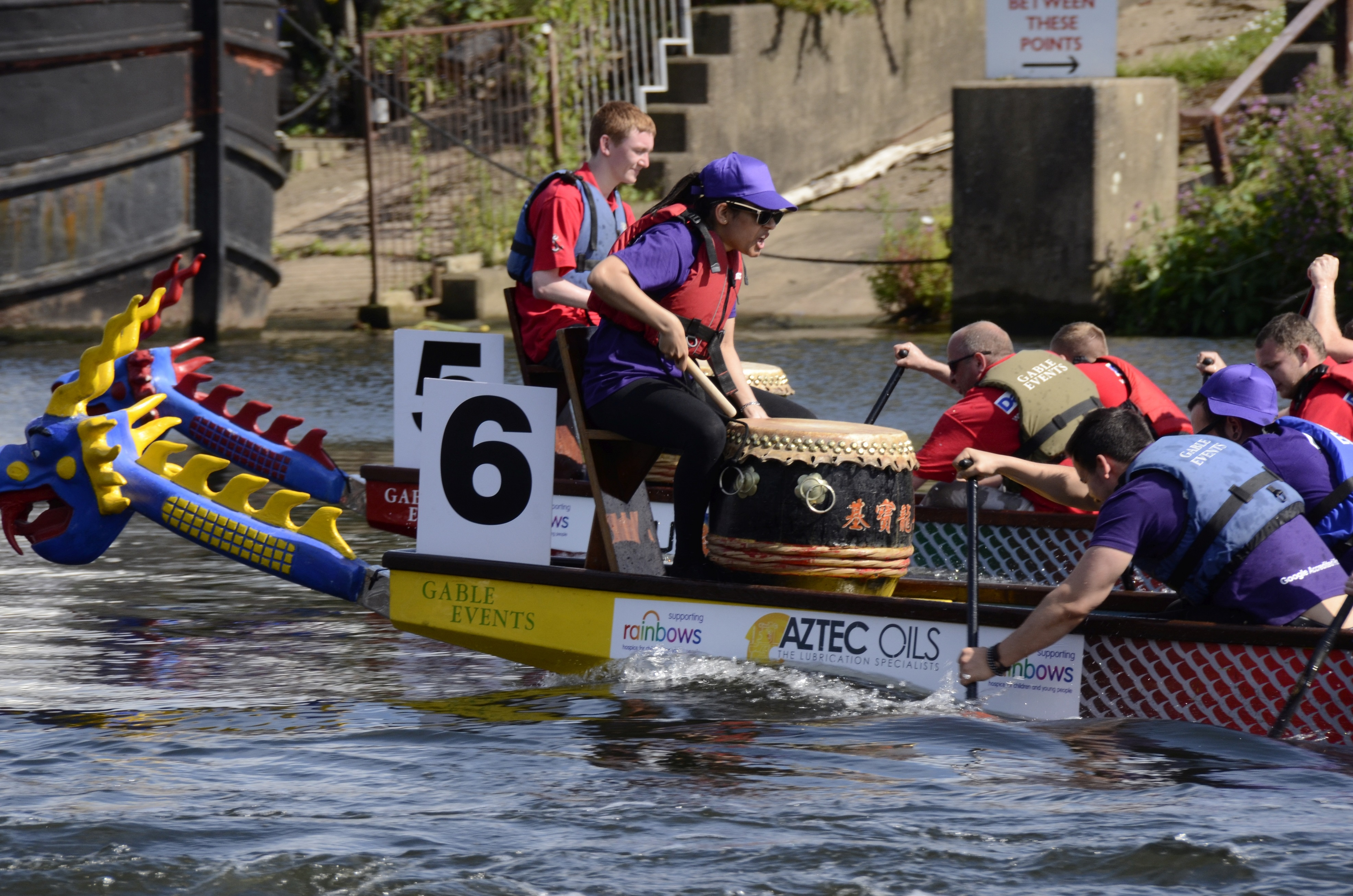 Still time to enter a team for the Nottingham Riverside Festival Dragon Boat Challenge on Sunday 5th August