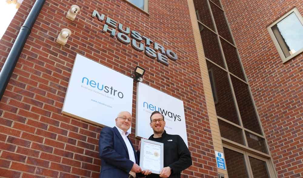 Neuways Achieves Blue Partner Status with Datto