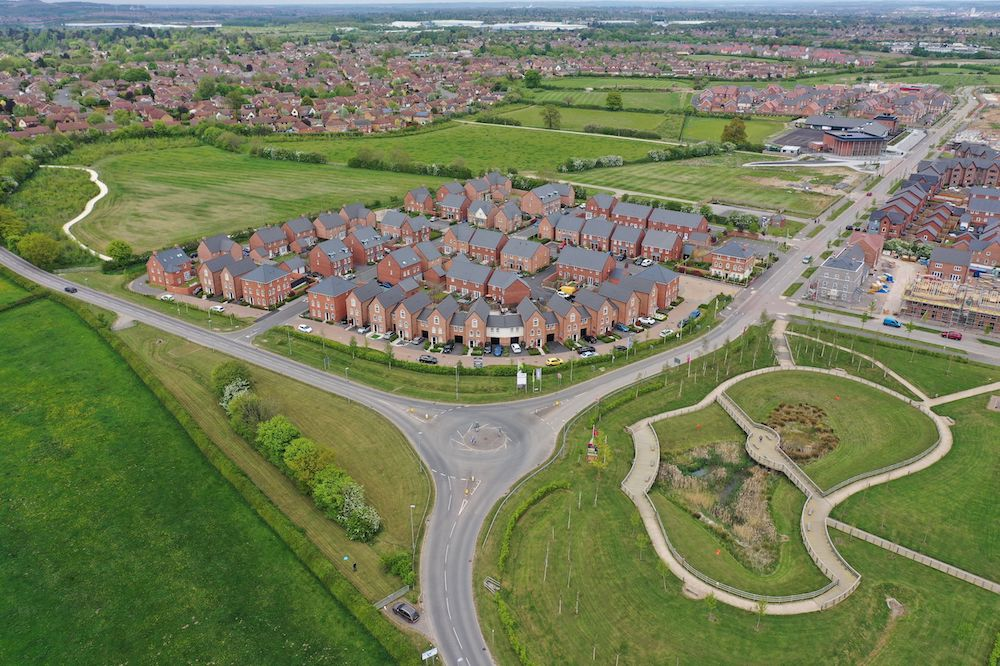 New Lubbesthorpe Development In Leicestershire Secures Coveted National Award