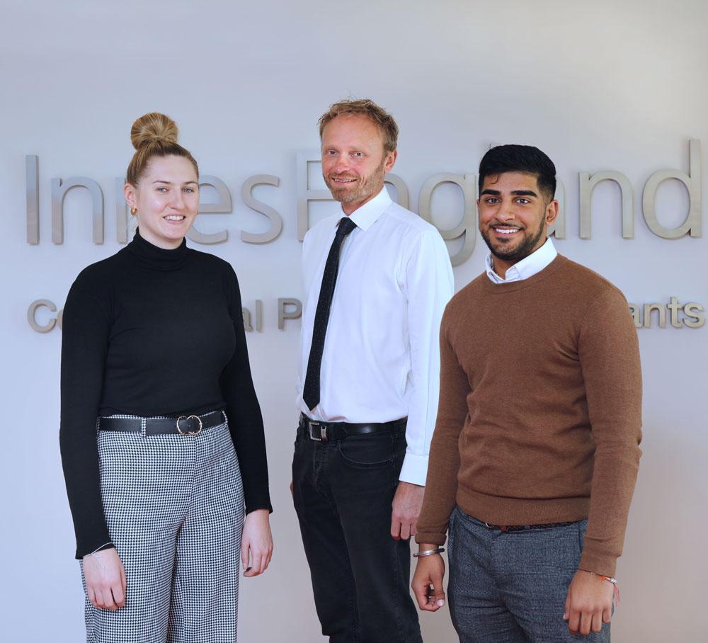 Graduates choose Innes England to build surveyor careers