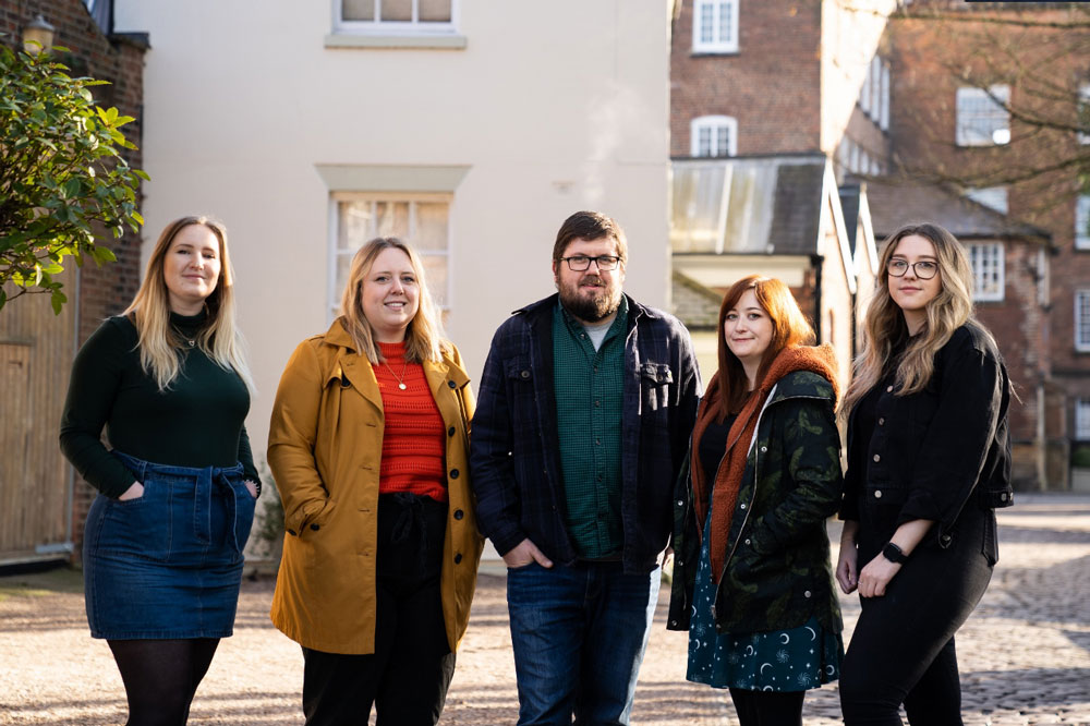 High fives as Fluid ideas welcomes new recruits