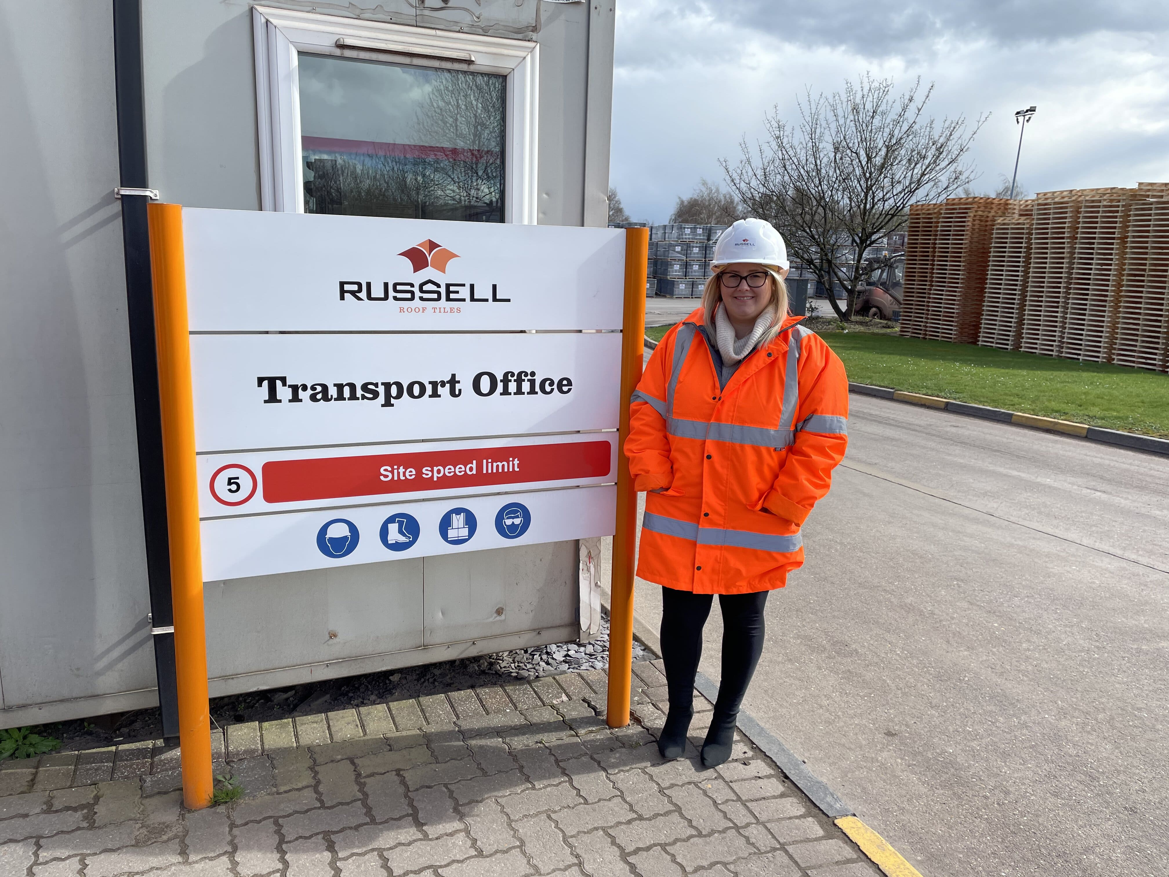 NEW LOGISTICS MANAGER AT ROOF TILE FIRM TO MEET GROWING DEMAND