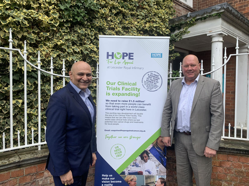 Local Foundation donates £101k to Hope Against Cancer Charity