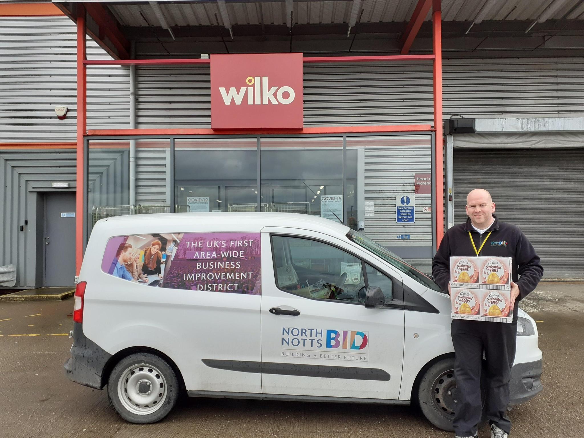 North Notts BidAnd WilkoDeliverEssential Supplies To LocalCommunity Groups