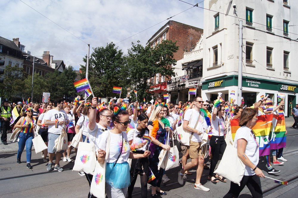 Notts Pride announces in-person march for 2021 event