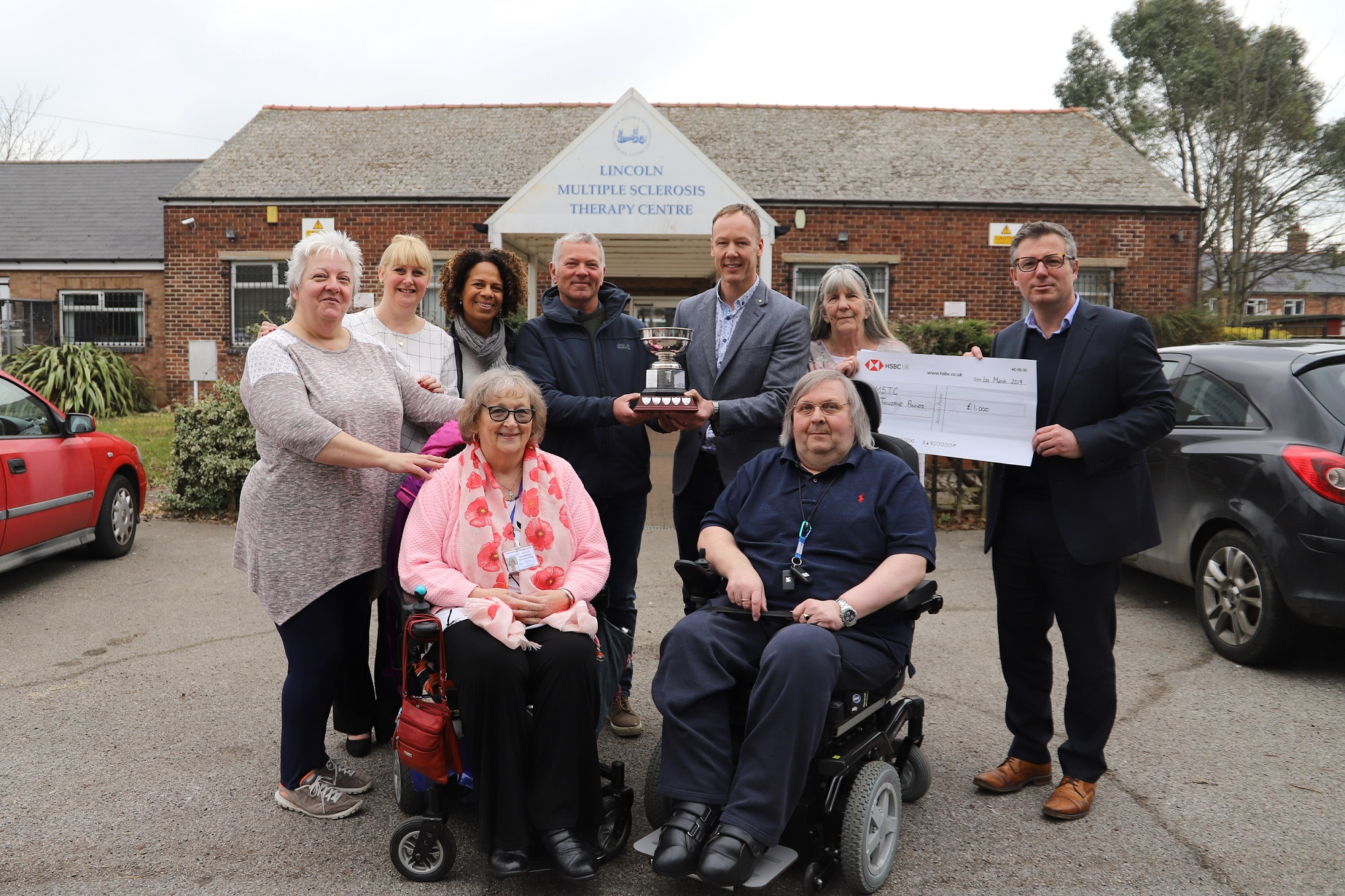 Stokes supports local charity by raising £1,000 for MS