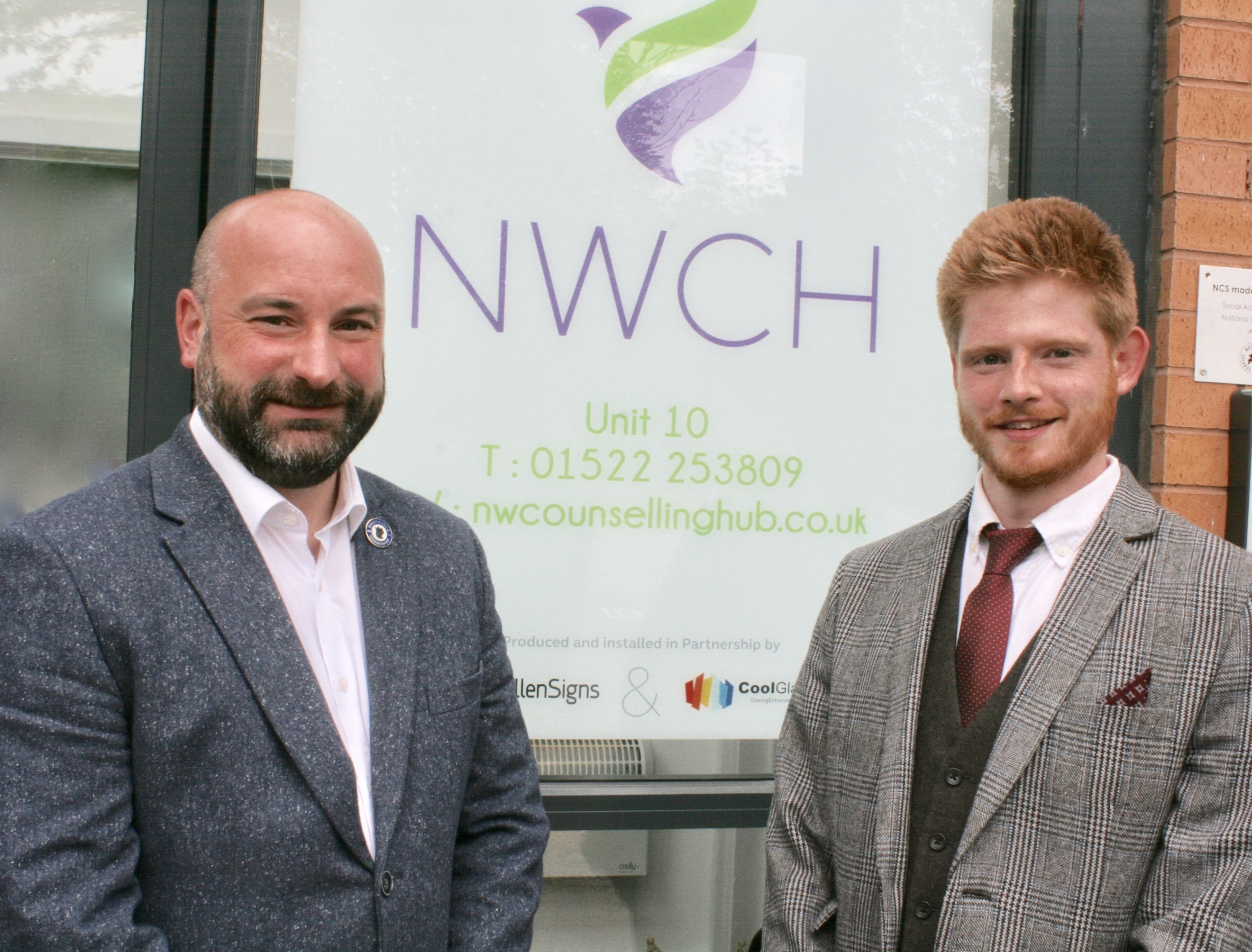 Lincolnshire PCC Visits NW Counselling HUB