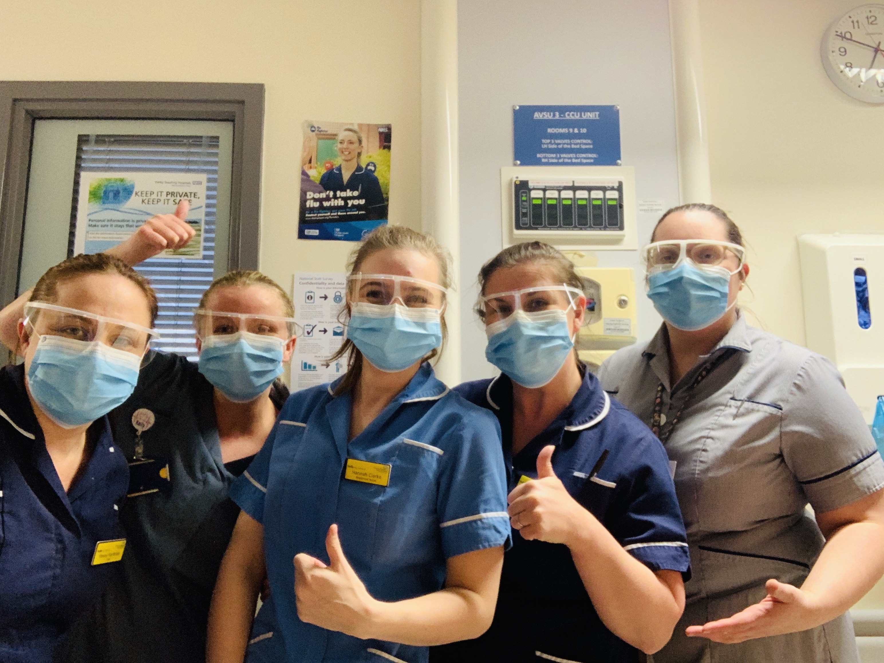 Housebuilder donates life-saving equipment to Royal Derby Hospital