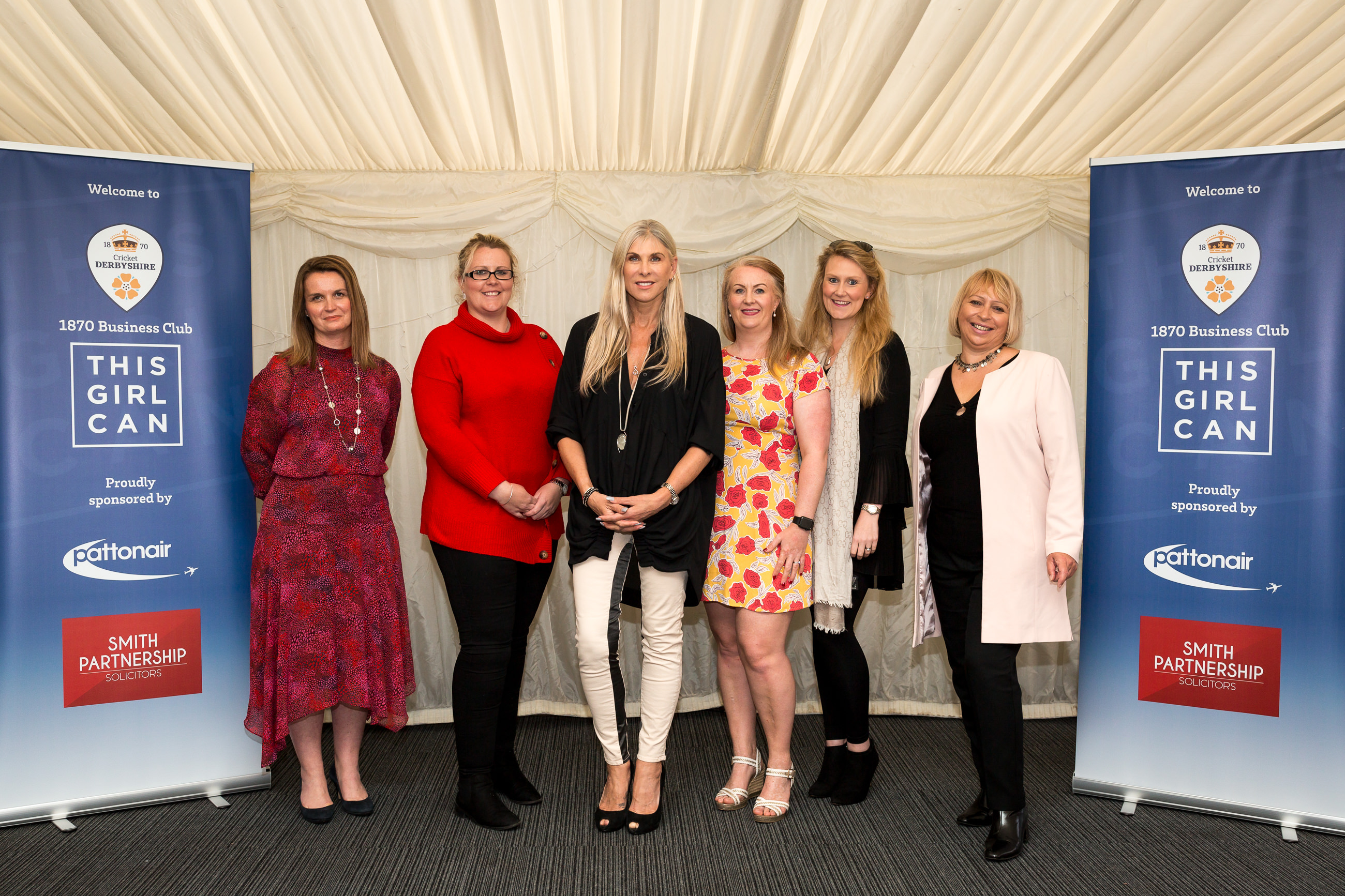 Pattonair celebrates women at 'This Girl Can' event with Sharron Davies MBE